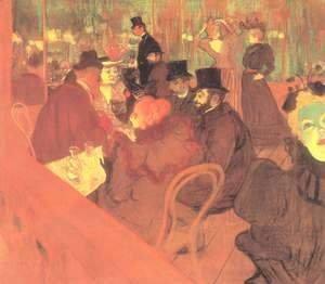 Toulouse-Lautrec - At The Moulin Rouge