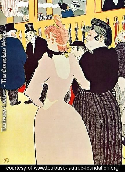 Toulouse-Lautrec - At The Moulin Rouge Ii