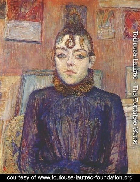Toulouse-Lautrec - Lautrec Girl With Lovelock
