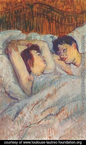 Toulouse-Lautrec - In Bed