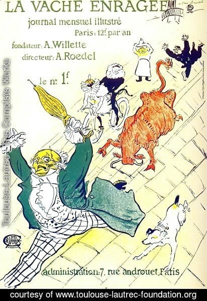 Toulouse-Lautrec - The Mad Cow