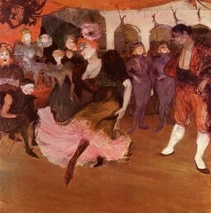 Toulouse-Lautrec - Marcelle Lender Doing The Bolero In Chilperic