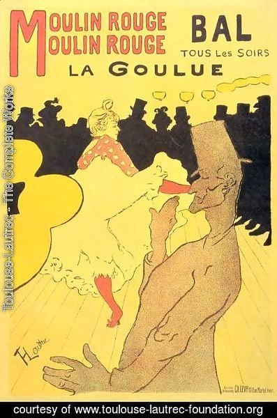 Toulouse-Lautrec - Moulin Rouge La Goulue