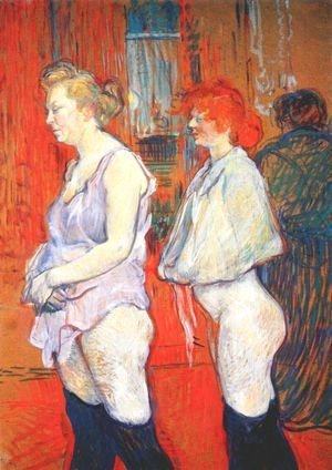 Toulouse-Lautrec - Rue Des Moulins   The Medical Inspection