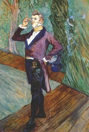 Toulouse-Lautrec - The Actor Henry Samary