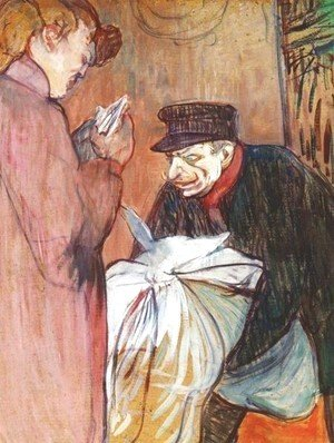 Toulouse-Lautrec - The Brothel Laundryman