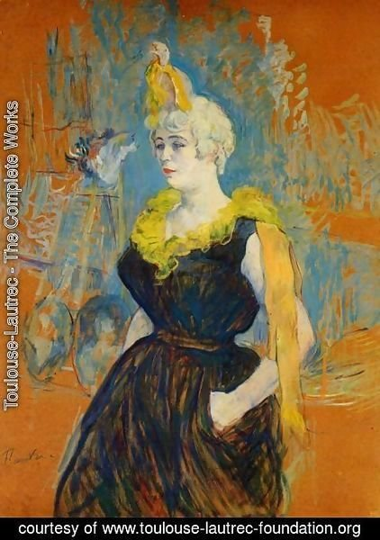 Toulouse-Lautrec - The Clownesse Cha U Kao