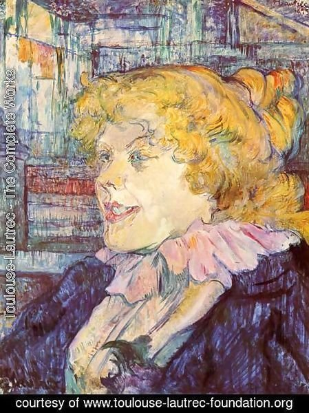 Toulouse-Lautrec - The English Girl From The Star At Le Havre