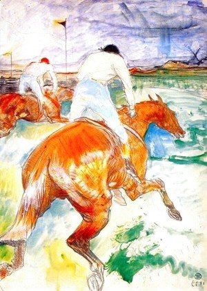 Toulouse-Lautrec - The Jockey
