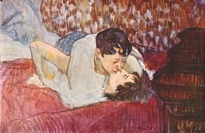 Toulouse-Lautrec - The Kiss