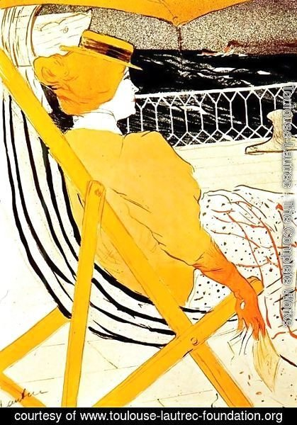 Toulouse-Lautrec - The Passenger In Cabin 54