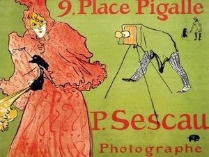 Toulouse-Lautrec - The Photographer Sescau