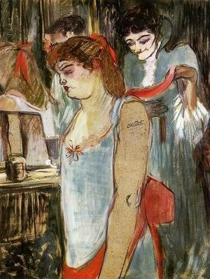 Toulouse-Lautrec - The Tattooed Woman