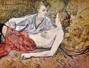 Toulouse-Lautrec - The Two Girlfriends