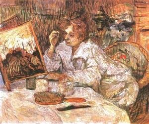 Toulouse-Lautrec - Woman At Her Toilette