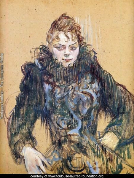 4033aaa3c04c7 Toulouse-Lautrec - The Complete Works - Woman With A Black Feather ...