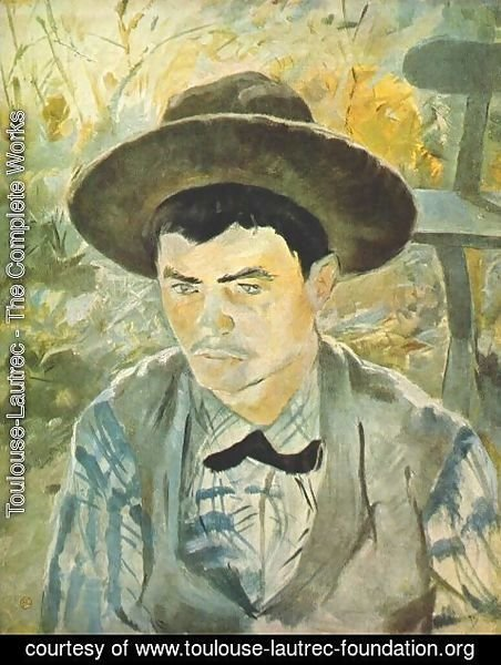 Toulouse-Lautrec - Young Routy 1883