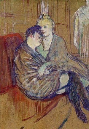 Toulouse-Lautrec - Two Girlfriends