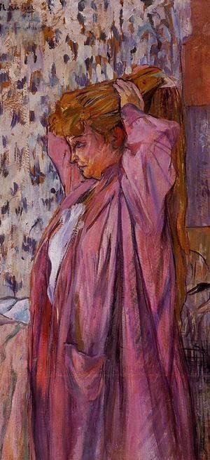 Toulouse-Lautrec - The Madame Redoing Her Bun