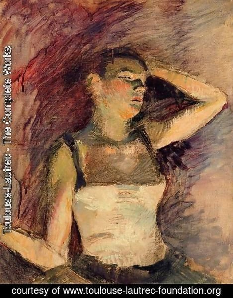 Toulouse-Lautrec - Study Of A Dancer