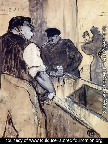 Toulouse-Lautrec - The Bartender