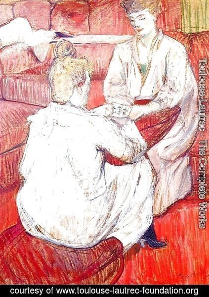 Toulouse-Lautrec - The Card Players