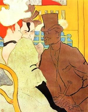 Toulouse-Lautrec - The Englishman At The Moulin Rouge